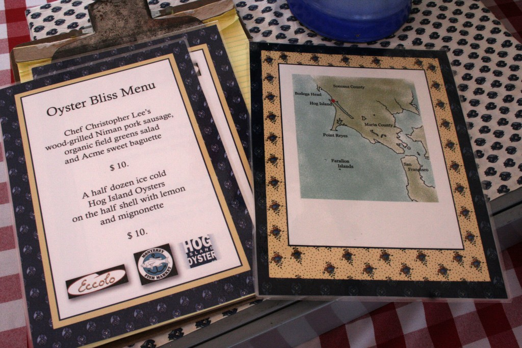 The Menus and Map