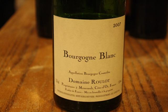 07 Bourgogne Blanc Roulot