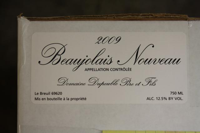 Beaujolais Nouveau 1.1