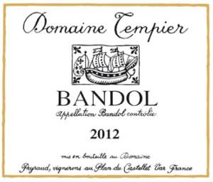Domaine-Tempier-label