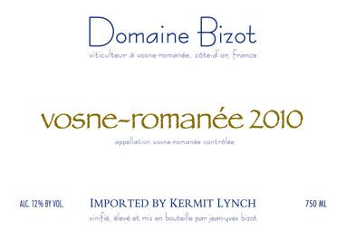 Domaine Bizot Vosne-Romanee