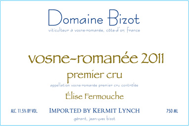 Domaine Bizot Vosne-Romanee Vieilles Vignes